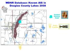 Solon Springs Area Known AIS